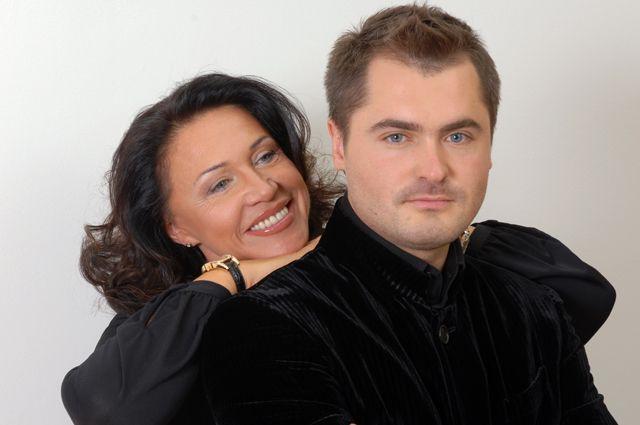 Надежда Бабкина и Евгений Гор.