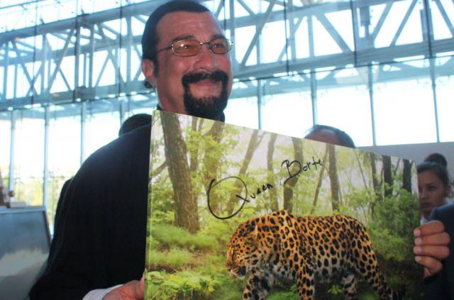 Всемирно известный актёр стал Хранителем леопарда в Приморье.