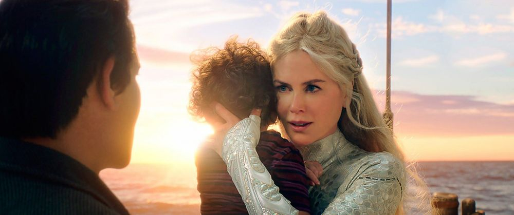 В 2018 году Николь Кидман предстала перед зрителями в фильме «Аквамен» в роли королевы Атланны, матери героя Джейсона Момоа.