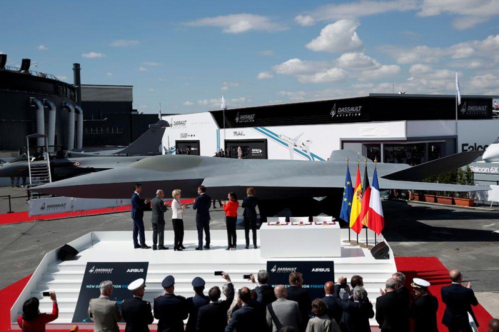 Новейший европейский истребитель пятого поколения NGF (Next Generation Fighter).