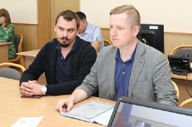 Владимир Барабаш справа.