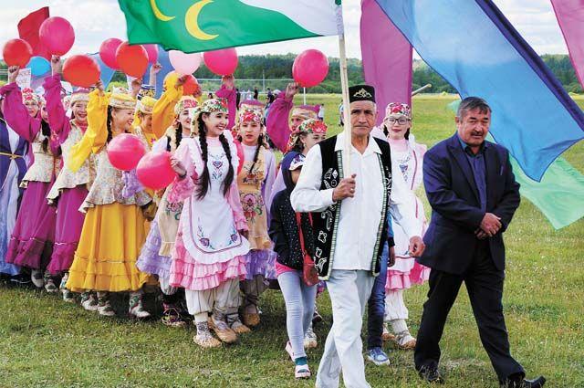 Сабантуй давно стал общим национальным праздником русских и татар.