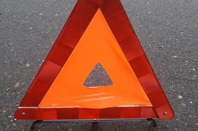 На трассе Оренбург - Илек произошла авария.