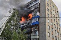 О страшном пожаре в городе говорили все выходные.