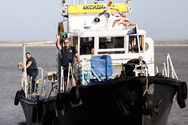 В мае-июне 2019 года съёмочная группа на экспедиционном судне «Аксидиан» прошла свыше 500 км от Калача-на-Дону до Таганрога.