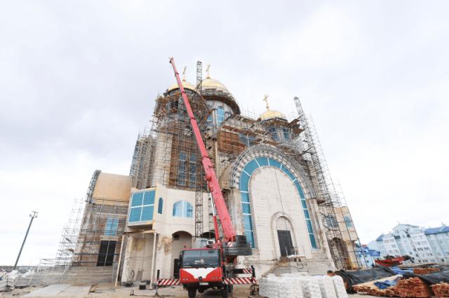 Храм в Салехарде станет жемчужиной и основой православия в Арктике