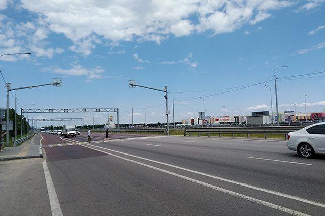 Пешеходный переход у «Града» уже прозвали дорогой смерти.
