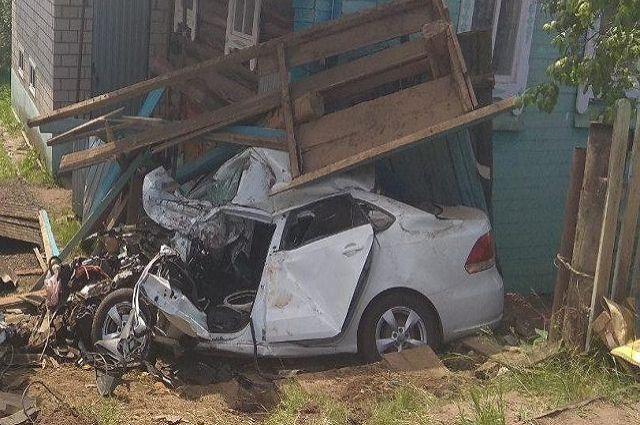 ДТП произошло напротив дома № 1 по улице Интернациональная в селе Вавож Вавожского района.