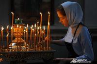 Свеча - это жертва Богу. Пламя свечи - искренняя, чистая молитва, которую мы несём Господу.