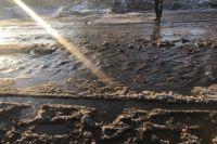 Количество загрязняющих веществ, сброшенных со сточными водами, превышало нормативы.