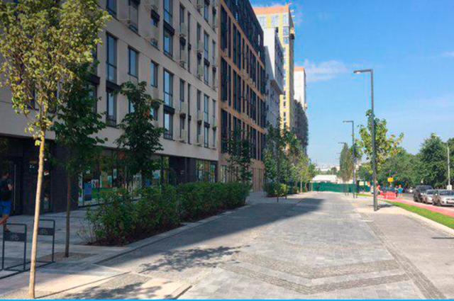 В Киеве открыли первую «умную» улицу