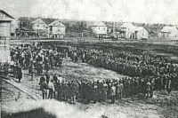 Общий вид Ягринского лагеря.