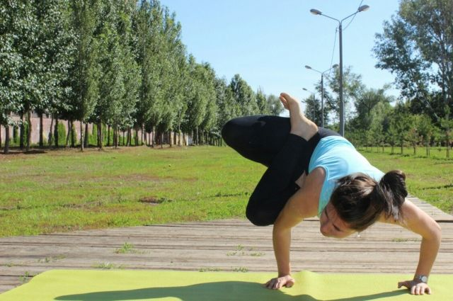 Динара Валиева: йога - это образ жизни.