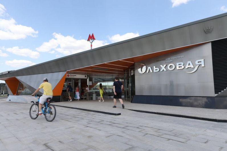 Станция «Ольховая».