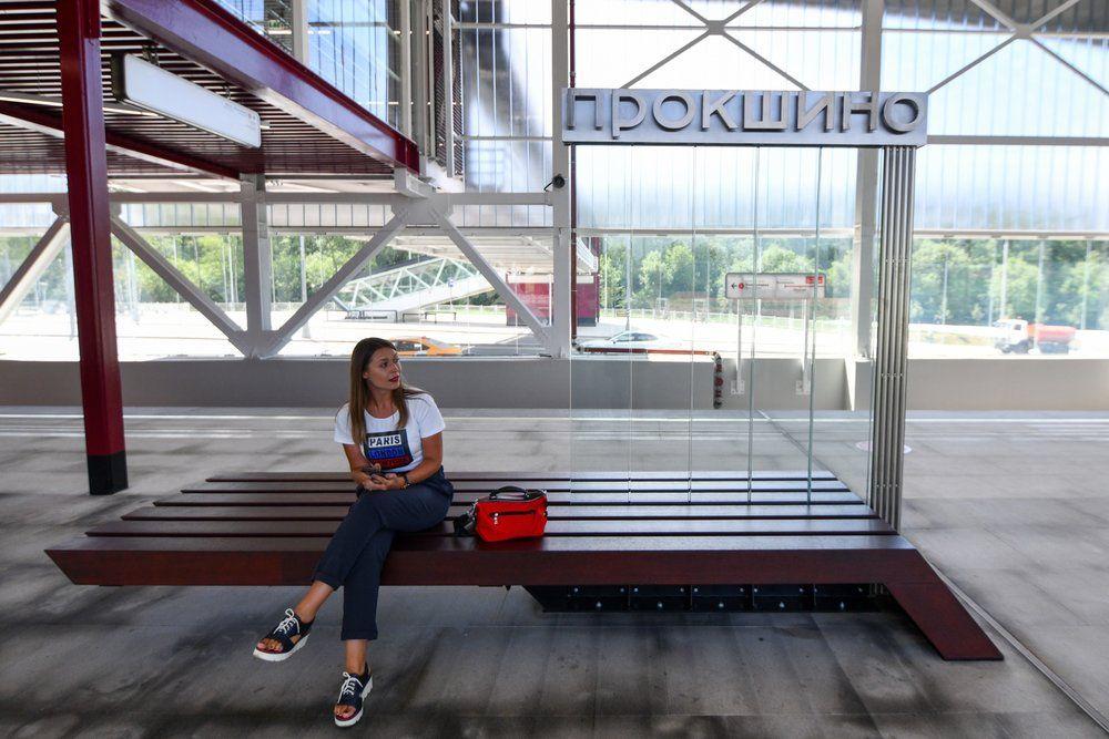 Станция «Прокшино».