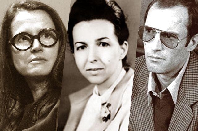 Моника Ярузельская, Людмила Живкова, Нику Чаушеску.