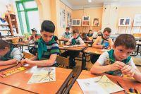 Кружок рисования длякуркинских детей врамках «Московской смены».