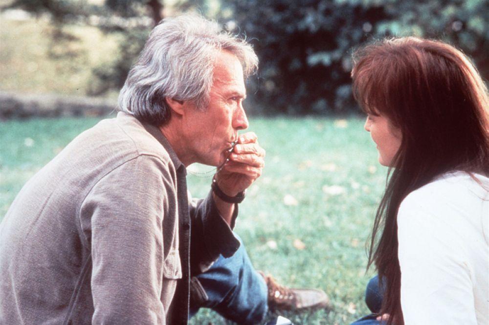 Первая половина 1990-х годов была наиболее неудачным периодом в карьере Мерил Стрип. Единственным успешным проектом была драма Клинта Иствуда «Мосты округа Мэдисон», в которой актриса сыграла добропорядочную итальянку Франческу Джонсон.