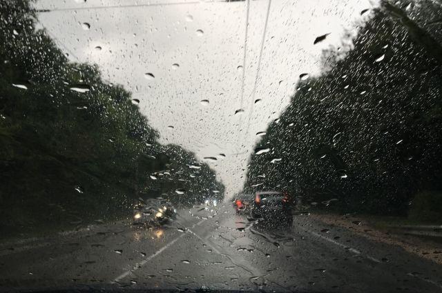 Первая половина недели будет дождливой.