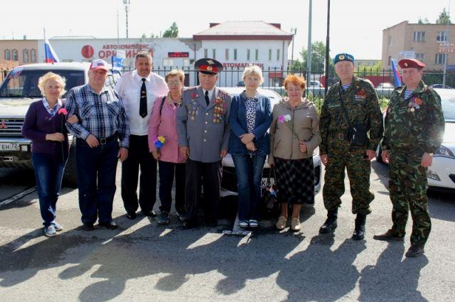 Тюменские ветераны ОВД провели автопробег в память о погибших в годы ВОВ