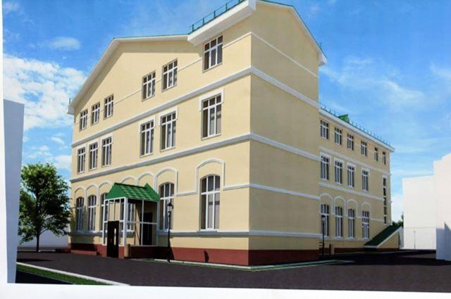 После окончания работ в здании появятся новые аудитории на третьем этаже, вход с улицы Ленинской, который давно ждут студенты и преподаватели, а также обновится фасад.