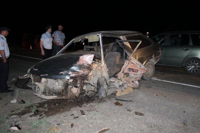 В Новоорском районе с места ДТП в больницу отправлен 19-летний водитель.