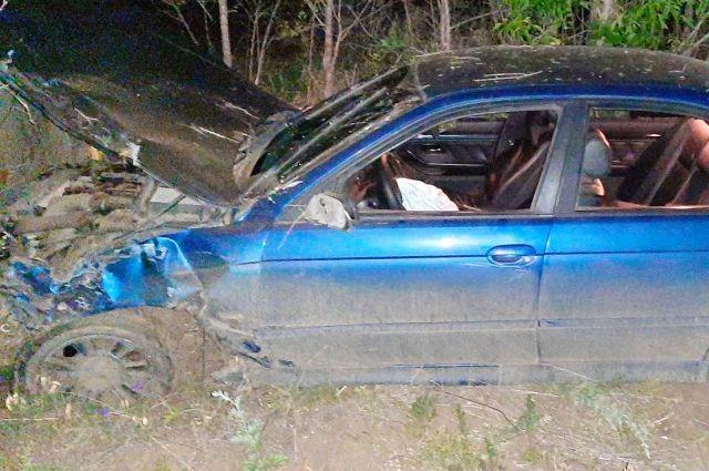 В Бузулукском районе водитель иномарки скрылся с места аварии.
