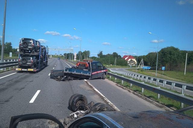 В Гурьевском районе в ДТП ранены 5 человек, один погиб