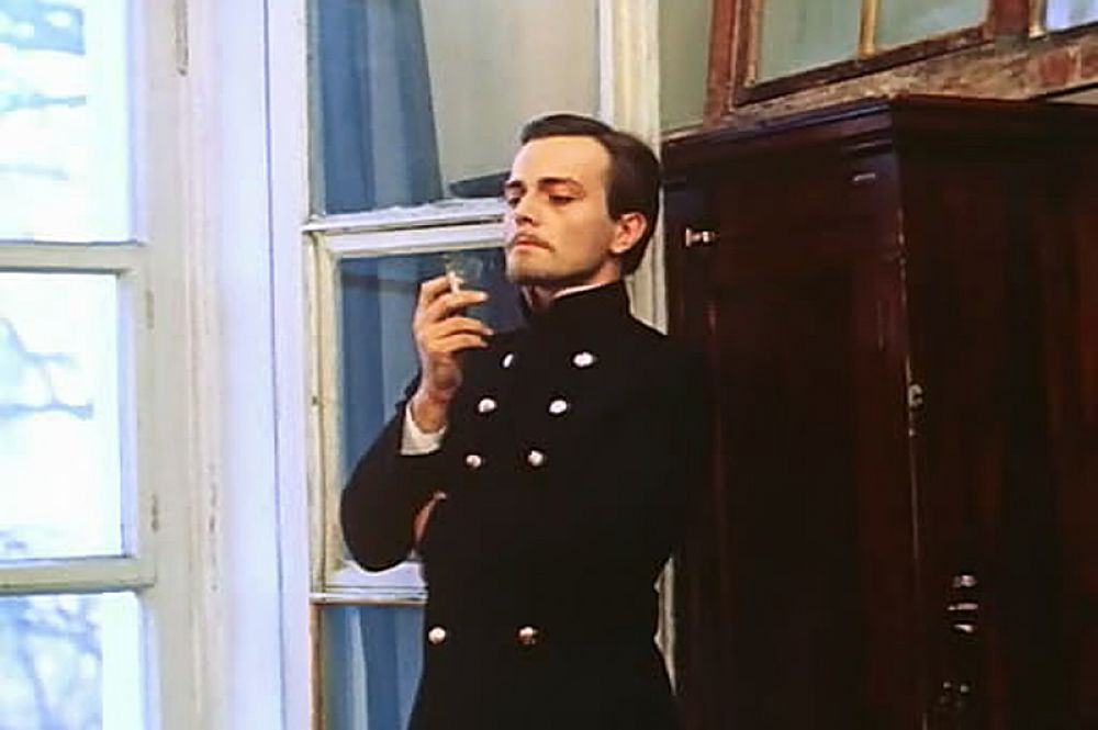 В роли аристократа Игоря Туробоева в телефильме «Жизнь Клима Самгина», 1987 год.