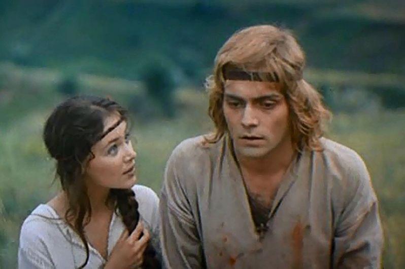 Андрей Харитонов в фильме «Ярослав Мудрый», 1981 год.