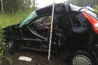 Водитель погиб на месте аварии до приезда медиков.