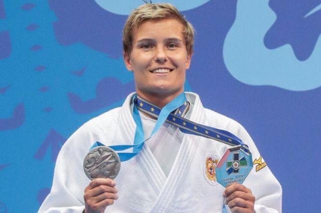 Наталья Кузютина завоевала серебро на Европейских играх по дзюдо
