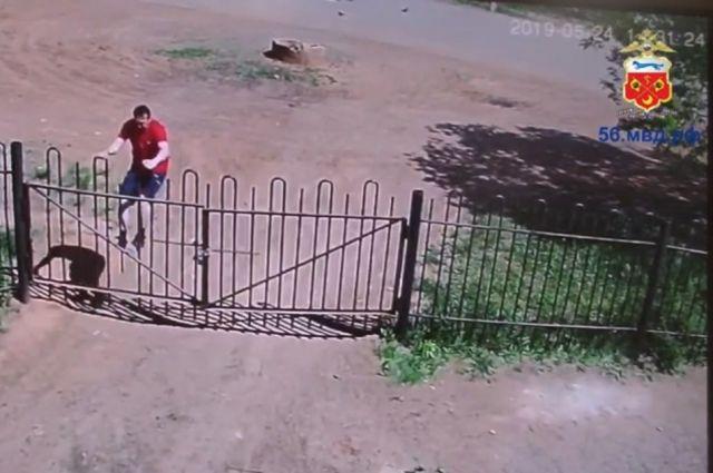 В Оренбурге продолжается розыск подозреваемого в грабеже