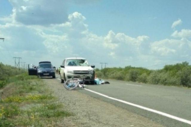 СК: в Оренбуржье после смерти 14-летней велосипедистки возбуждено дело