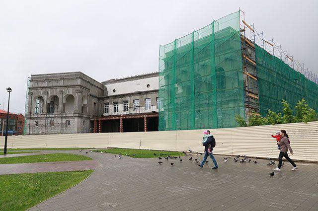 Строительство художественного музея Алтайского края
