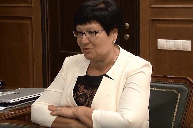 Лариса Гимазутина.