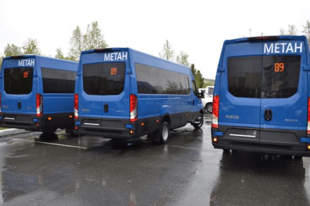 В Надым поступило еще восемь экологически чистых автобусов