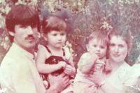 Тагирбек Муртазаев с семьей.
