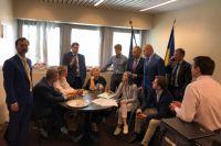 Украинская делегация остановила свое участие в ПАСЕ.
