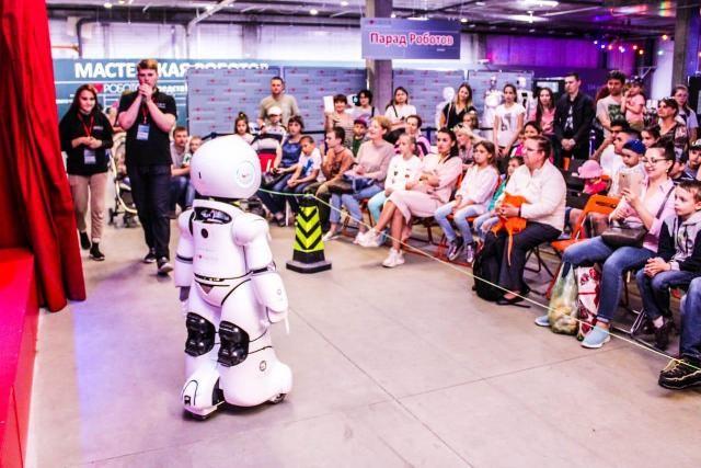 Посетители выставки смогут пообщаться с дружелюбными роботами.