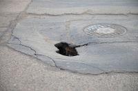 В Оренбурге на ремонт гарантийной дороги снова потрачены бюджетные средства.
