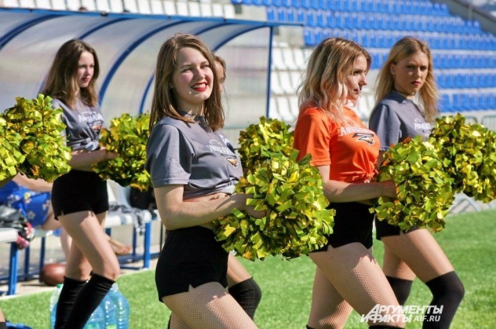 Матч состоялся в рамках открытого чемпионата Беларуси по американскому футболу.