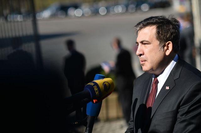 Саакашвили назвал действия грузинских властей «беспределом»