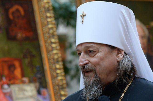 Митрополит Белгородский и Старооскольский Иоанн.