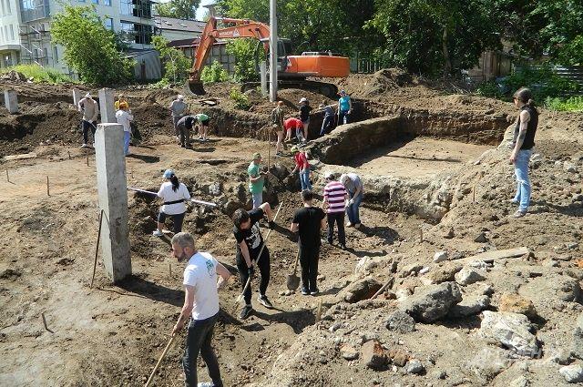 Раскопки начались 17 мая.