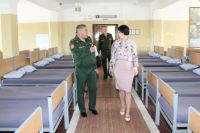 Не так давно уполномоченный по правам человека Маргарита Павлова посетила призывный пункт в посёлке Южный.