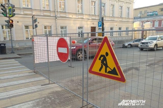 Во время ремонта для автомобилистов будет сохраняться движение по одной полосе.