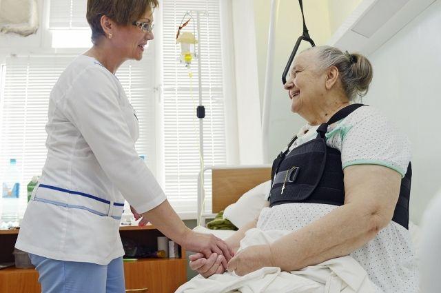 В Оренбургском сосудистом центре ежегодно лечатся 3 тыс. пациентов