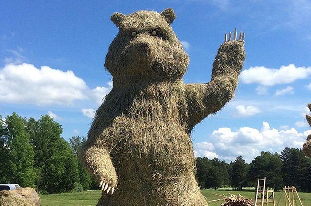 Конкурсная фигура медведя