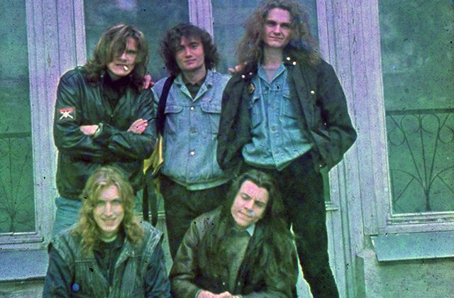 """""""Firetower"""": единственное цветное фото группы."""